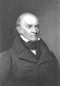 John quincy adams the sixth president of the united states followed